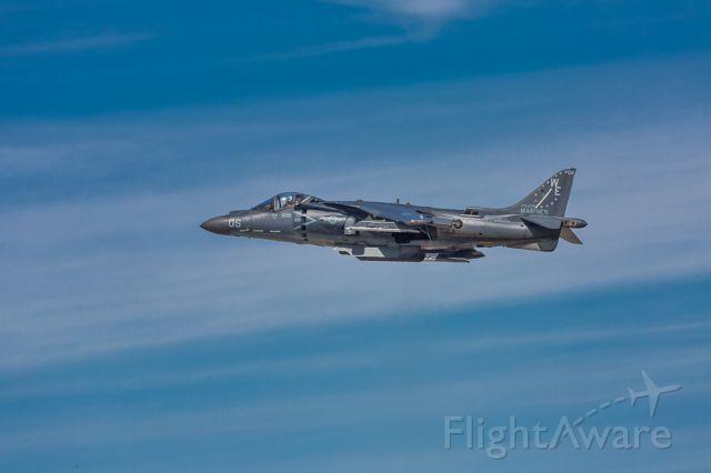 — — - McDonnell Douglas AV-8B Harrier II
