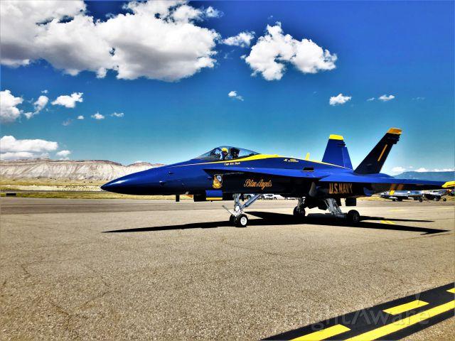 — — - Blue Angels Air show at KGJT