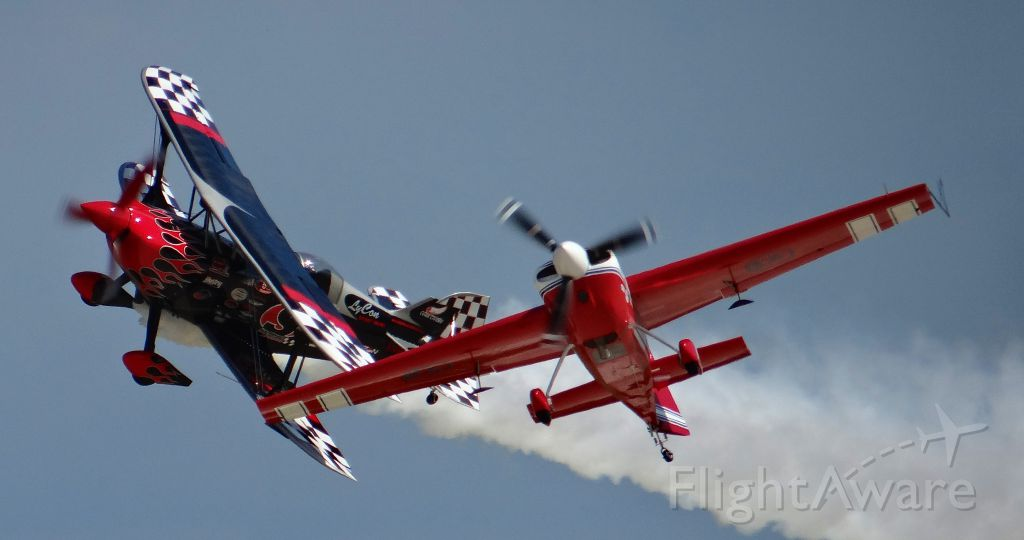 PITTS Special (S-2) (N540SS) - An amazing performance being put on at AirVenture 2015!