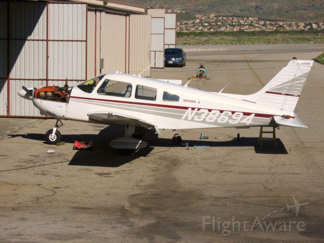Piper Cherokee (N38694) - At Redlands Muni