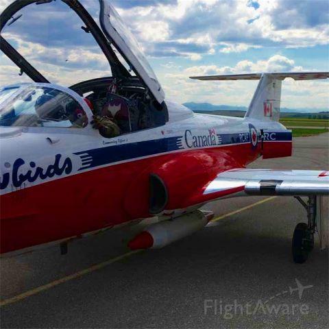 Canadair CL-41 Tutor — - Canada 150 snowbird