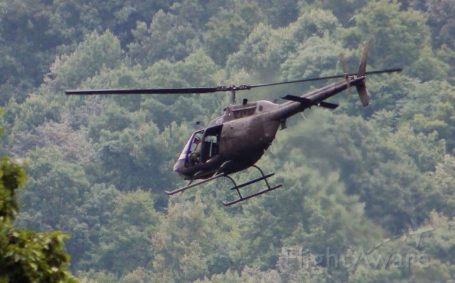 — — - UNITED STATES ARMY BELL OH-58 KIOWA