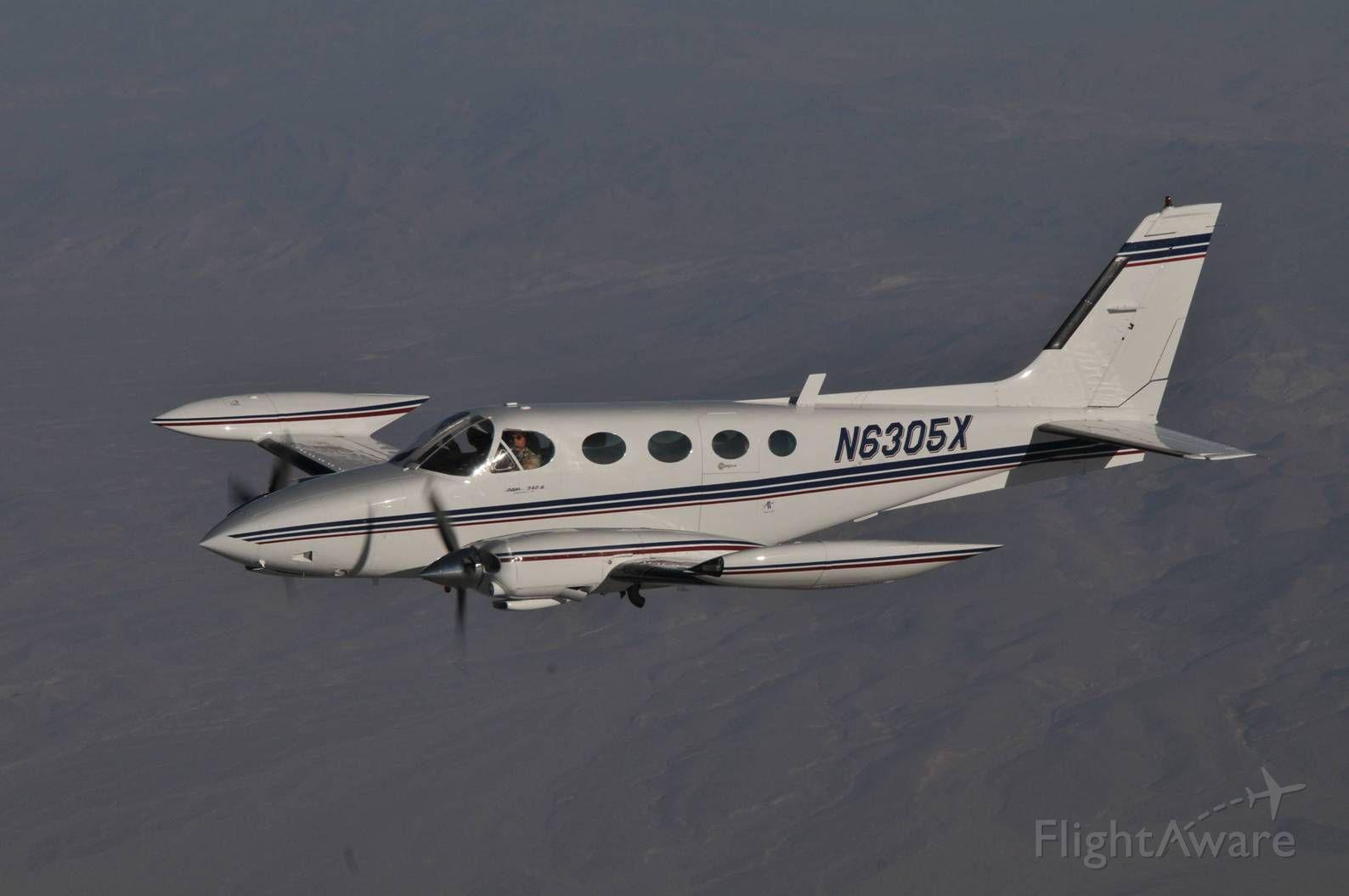 Cessna 340 (N6305X) - Near Mount San Gorgonio, CA
