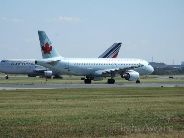 Airbus A320 (C-FDQV) - Heading to Winnipeg (CYWG)