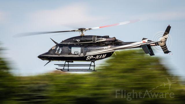 Bell 427 (SP-NAM) - High speed pass by Bell 427 @Piotrków Trybunalski, Poland 2020