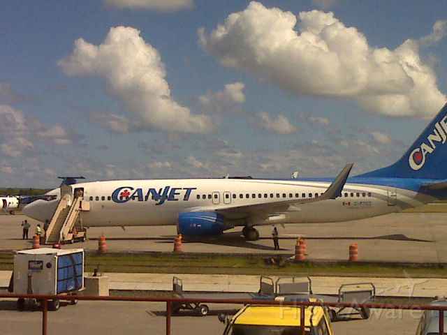 Boeing 737-800 — - CanJet B737-800