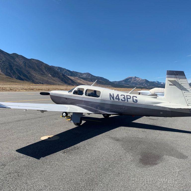 Mooney M-20 Turbo (N43PG)