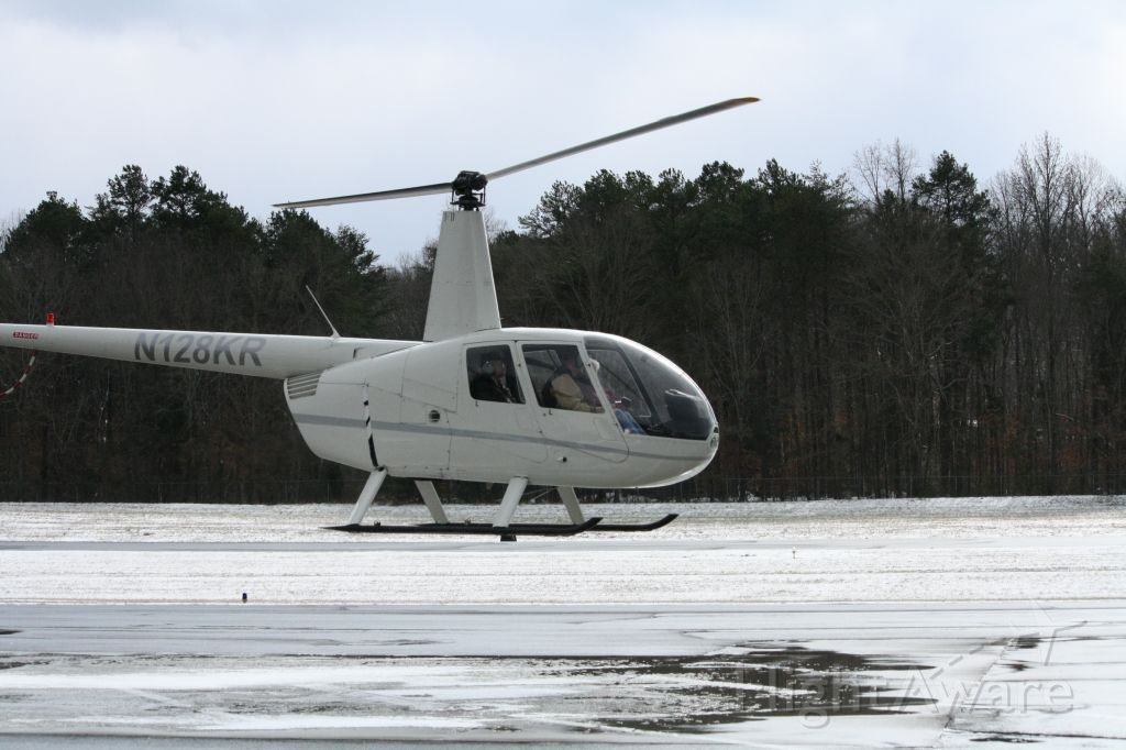 Robinson R-44 (N128KR) - Giving Rides.