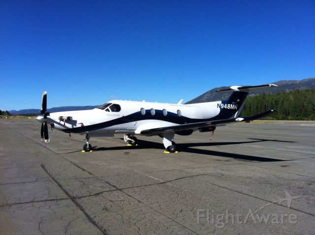 Pilatus PC-12 (N948MR) - Beautiful day.....beautiful plane