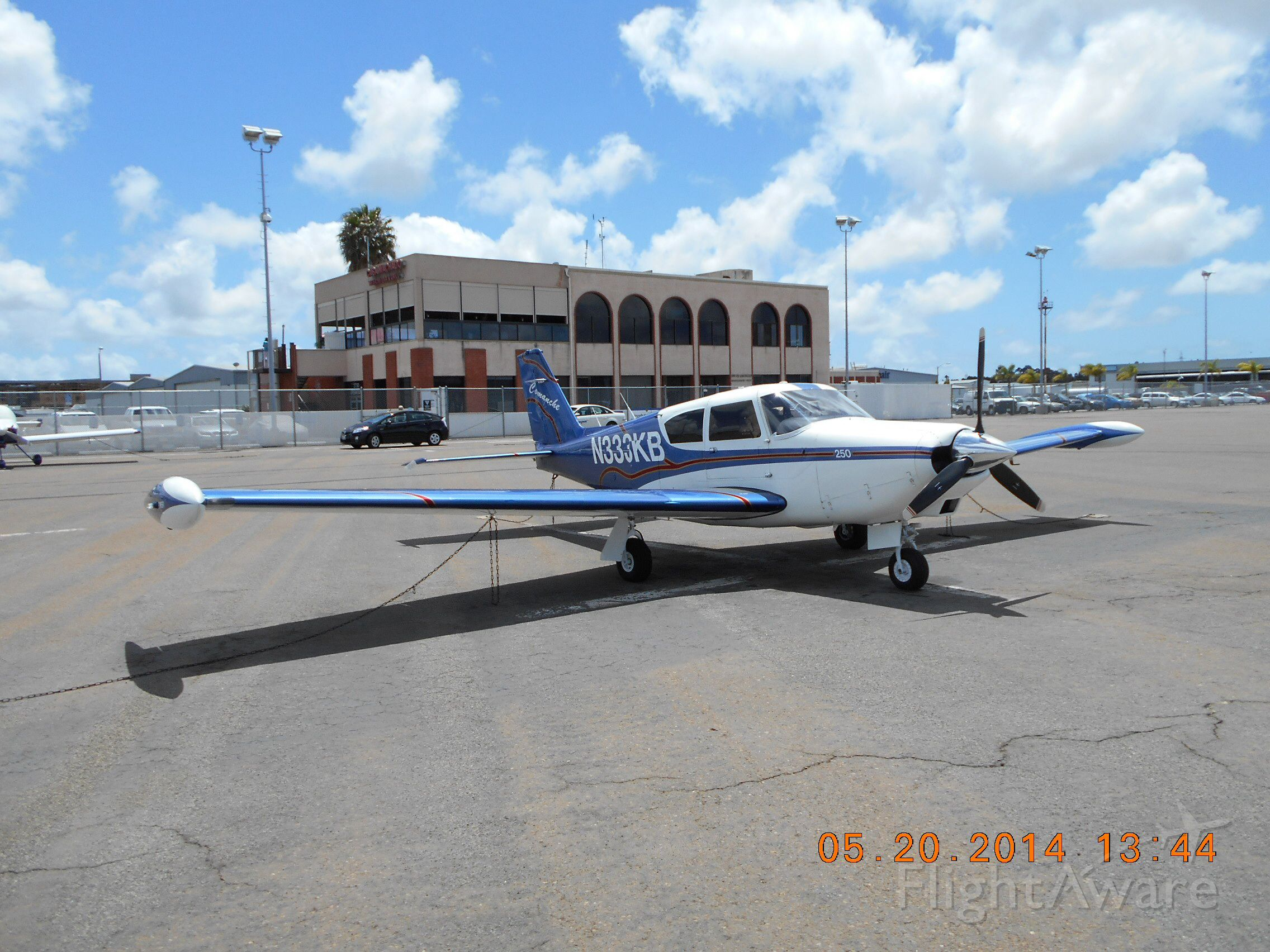 Piper PA-24 Comanche (N333KB) - Ramp at Montgomery Field(KMYF), San Diego, Ca.