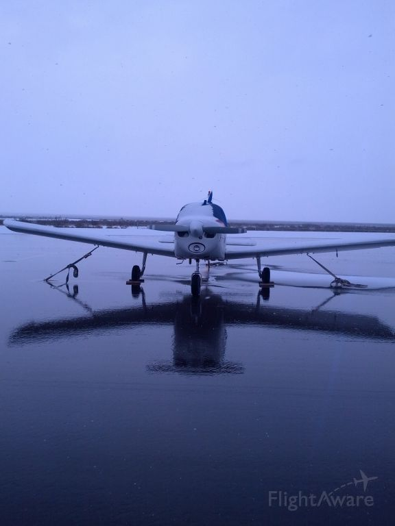 Piper Cherokee (N4671R) - Alamo Landing Field L92 Apron