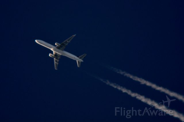Boeing 757-200 (C-FGKJ) - Cargojet 907 N Kentucky Intl to Montreal-Mirabel over Cleveland 39,000 ft. 08.05.15.