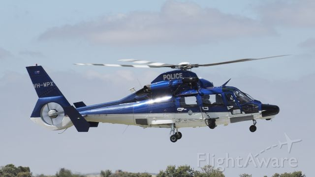 VOUGHT SA-366 Panther 800 (VH-WPX) - Airbus Helicopters AS365 Dauphin Western Australian Police VH-WPX ypjt 220219.