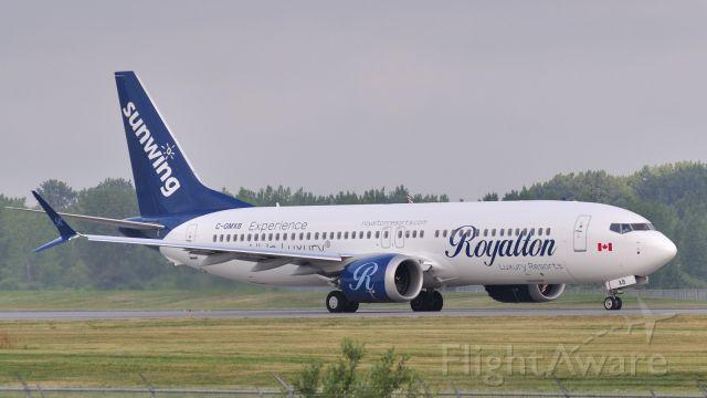Boeing 737 MAX 8 (C-GMXB)