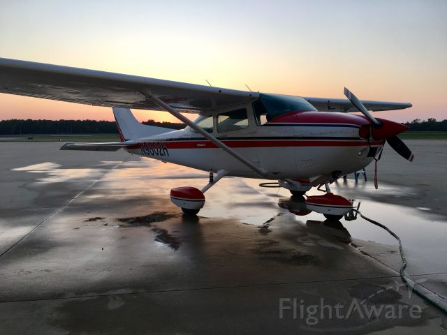 Cessna Skylane (N9802H) - First wash in my possession
