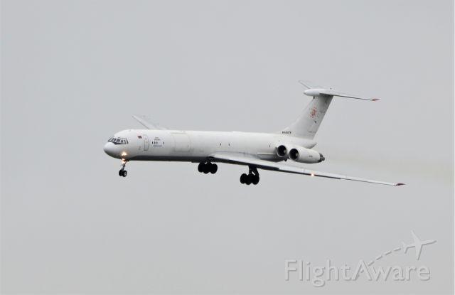 Ilyushin Il-62 (EW-450TR) - rada airlines il-62mgr ew-450tr landing at shannon from belarus 18/3/21.