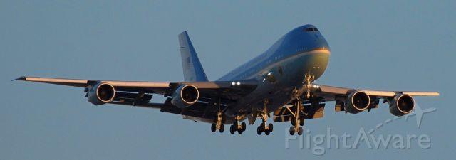 Boeing 747-200 (N28000) - phoenix sky harbor international airport MAGA one 19FEB20