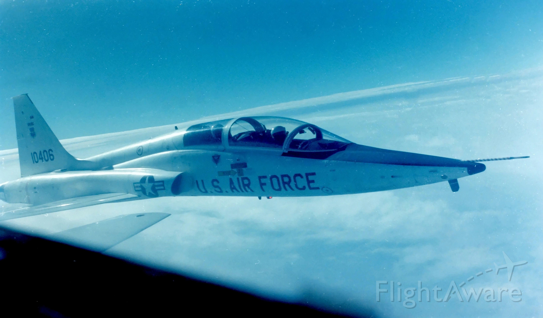 Northrop T-38 Talon (N10406) - Old pilot training photo.