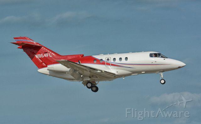Raytheon Hawker 800 (N854FL)