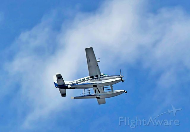 Cessna Caravan (N801TW) - Panasonic FZ300