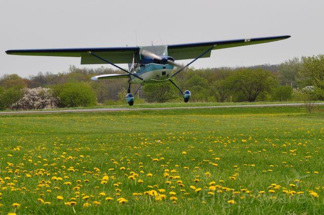Cessna 170 (N2515C) - Landing 90NY Hopewell Airpark, NY  Pilot: Brandon Corbett