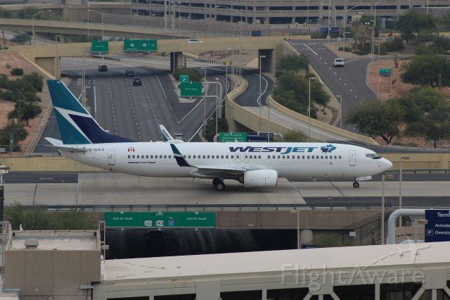 Boeing 737-800 (C-GJLS) - 11/22/2018