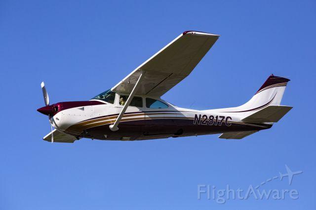 Cessna Turbo Skylane RG (N2817C) - In the pilot seat.