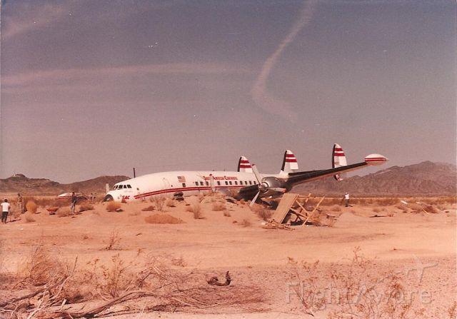 Lockheed EC-121 Constellation (N6937C)