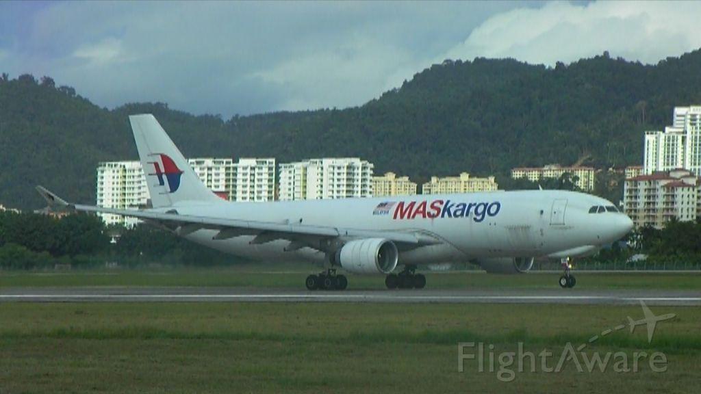Airbus A330-200 (9M-MUB) - MASkargo A330-223F at Penang. A rare sight. Spotting location: Fibre tank