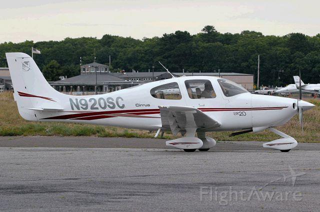Cirrus SR-20 (N920SC)
