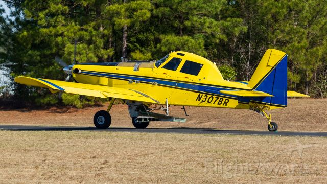 AIR TRACTOR Fire Boss (N307BR) - Heading out to apply fertilizer to East Texas pines.