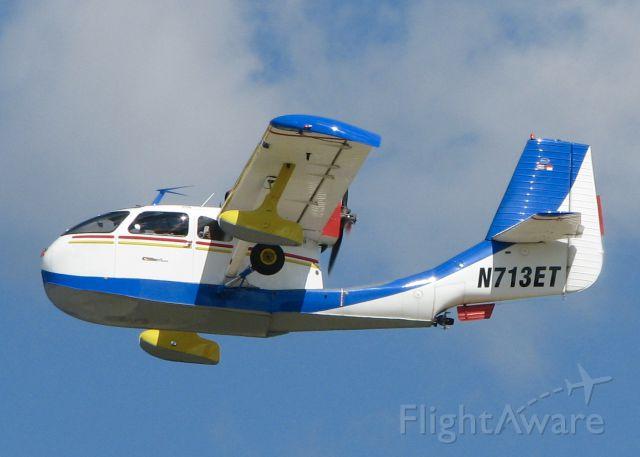 REPUBLIC Seabee (N713ET) - AirVenture 2016. 1947 Republic RC-3 Seabee