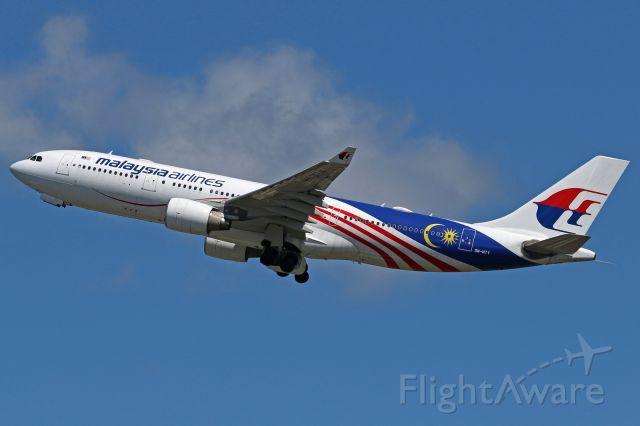 "Airbus A330-200 (9M-MTY) - ""Négaraku Malaysia"" livery"