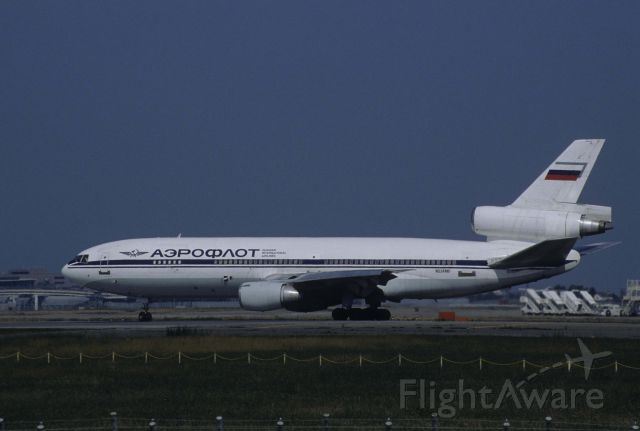 McDonnell Douglas DC-10 (N524MD) - Departure at Narita Intl Airport Rwy34L on 1998/10/11