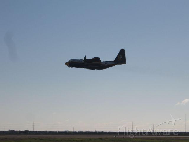 Lockheed C-130 Hercules (NAVY) - Fat Albert taking off