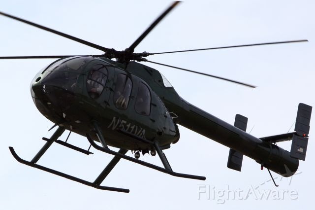 MD HELICOPTERS MD-600N (N511VA)