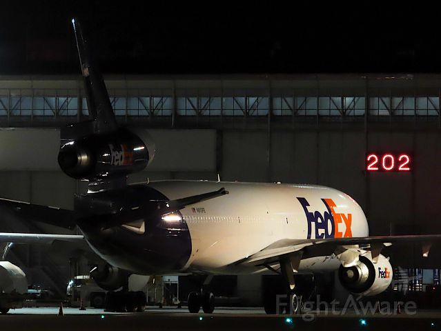 Boeing MD-11 (N613FE) - I took this picture on Aug 09, 2019.br /FX5608/09Aug CAN-NRT