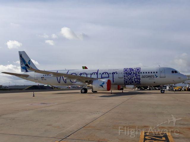 Airbus A321 (CS-TSG) - Aeroporto de lisboa