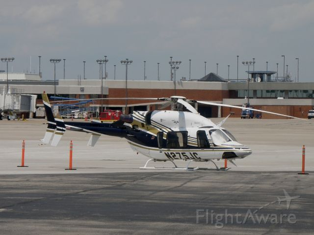 Bell 427 (N275JC) - A Bell 427 registered to Justice Aviaiton Beaver, WV parked on the ramp at Blue Grass Airport (KLEX)...