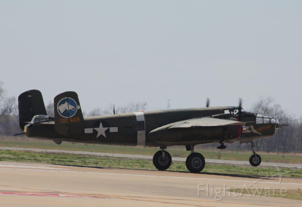 "North American TB-25 Mitchell — - Collings Foundation B-25 ""Tondelayo"""