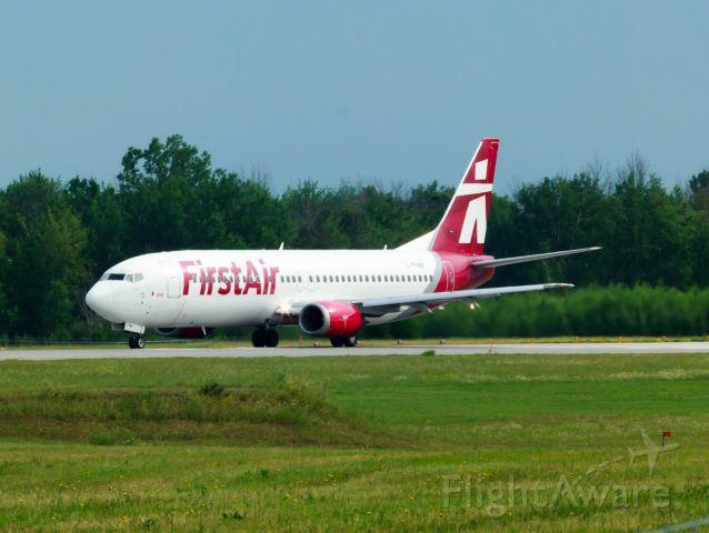 Boeing 737-200 (C-FFNM) - Heading for Iquluit.