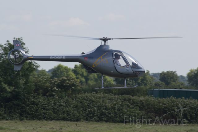 G-DGRE — - Hover taxiing back to  the helicentre