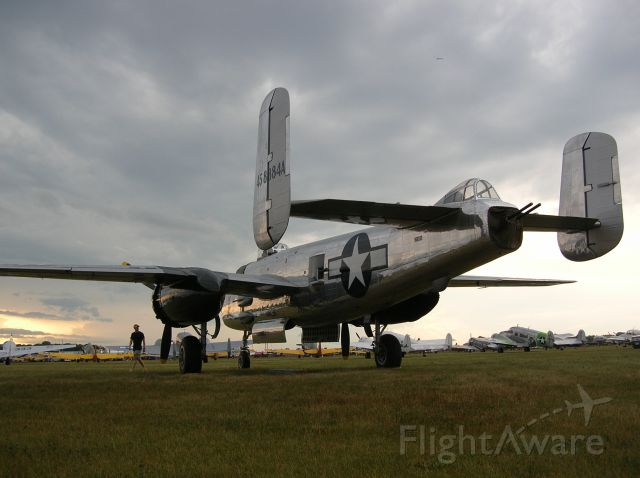 — — - B-25