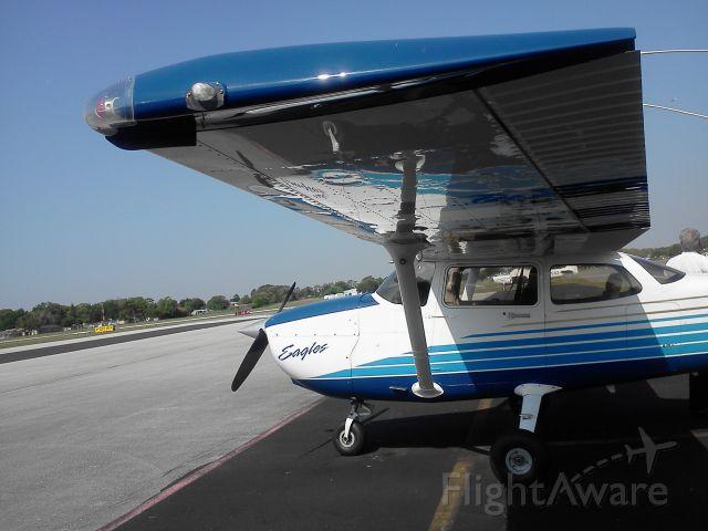 Cessna Skyhawk (N495ER) - On the GA Ramp at X21(Arthur Dunn)