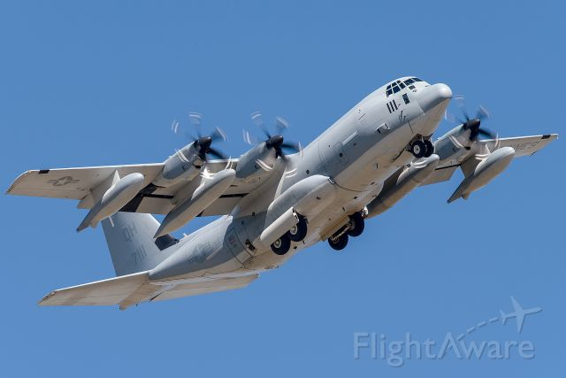 "Lockheed C-130 Hercules — - KC-130J of the VMGR-234 ""Rangers""  at NAS Fort Worth JRB."