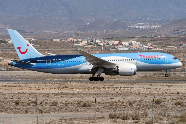 Boeing 787-8 (G-TUIF)