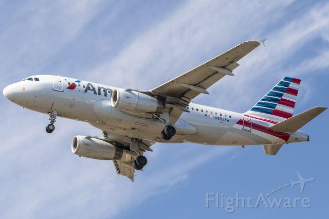 Airbus A319 (N833AW)