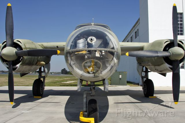 MARTIN Marauder (40-1464) - Frontal view at Worlds Greatest Aircraft Collection during a tour