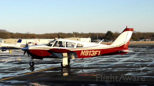 Piper Cherokee (N913FL) - Our Arrow returns home with a new paint job.