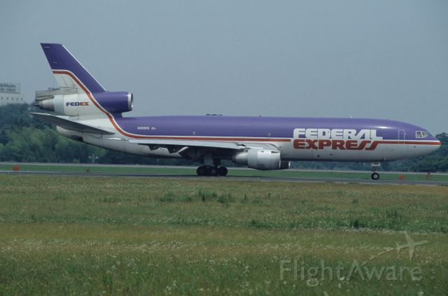 McDonnell Douglas DC-10 (N308FE) - Departure at Narita Intl Airport Rwy16 on 1993/06/27